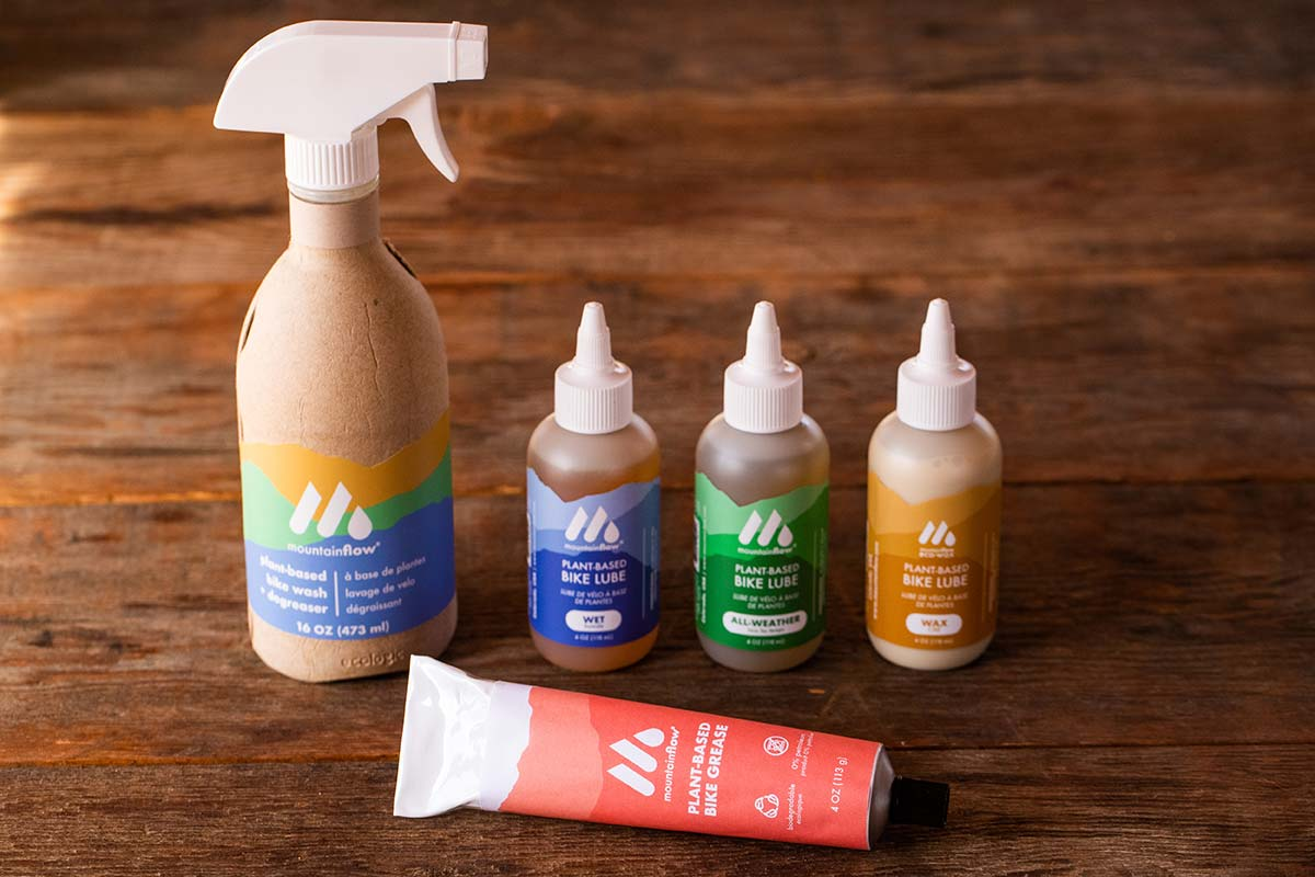 mountainflow bike maintenance products ecowax environmentally friendly plant based formulation