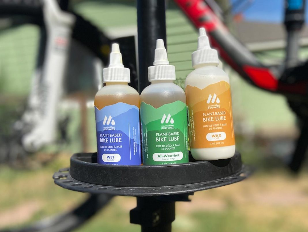 plant based chain lube bike cleaning products eco friendly mountainflowecowax