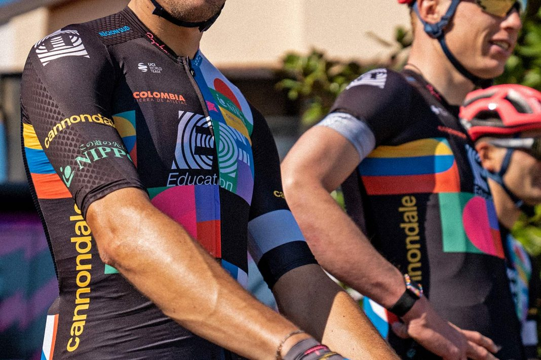 EF Pro Cycling colorful Rapha Euphoria switch-out kit at 2021 Giro d Italia,team detail pre-race