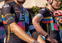 EF Pro Cycling colorful Rapha Euphoria switch-out kit at 2021 Giro d Italia, team detail pre-race