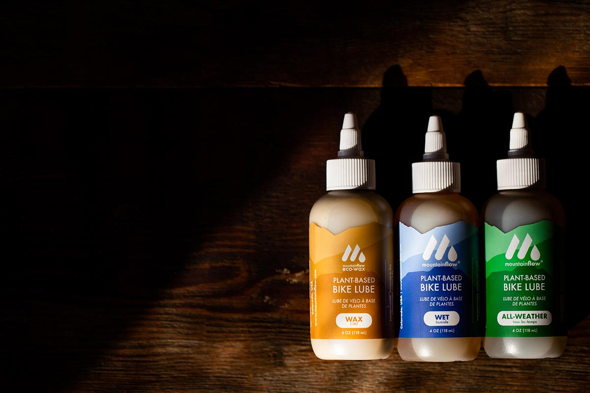 mountainflow ecowax plant based chain lube bikes