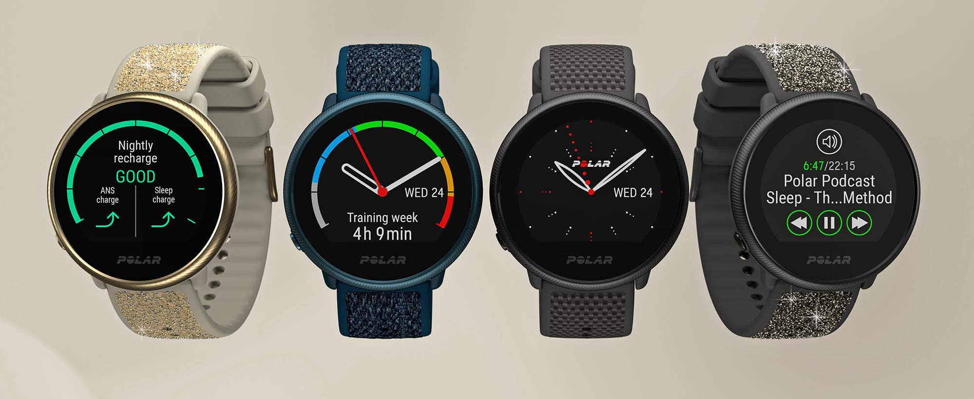 Updated Polar Ignite 2 smartwatch, colors