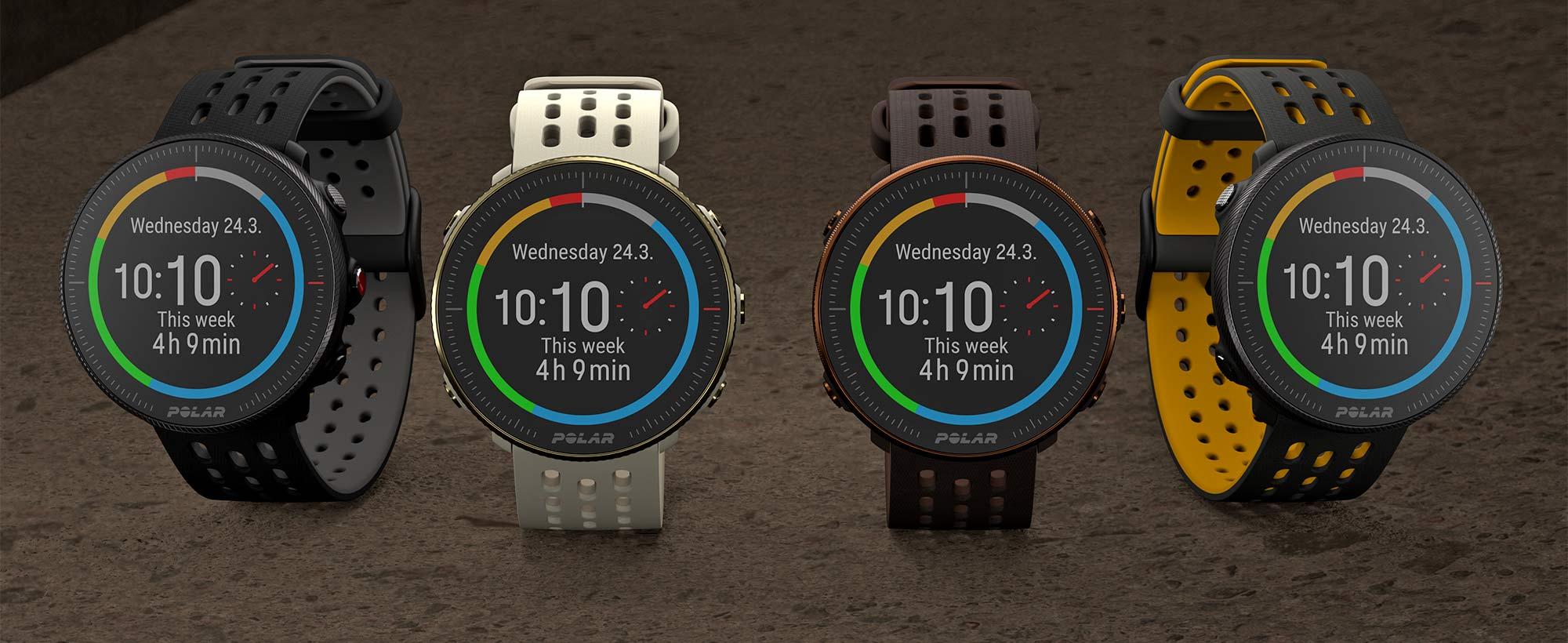 Updated Polar Vantage M2 smartwatch, colors
