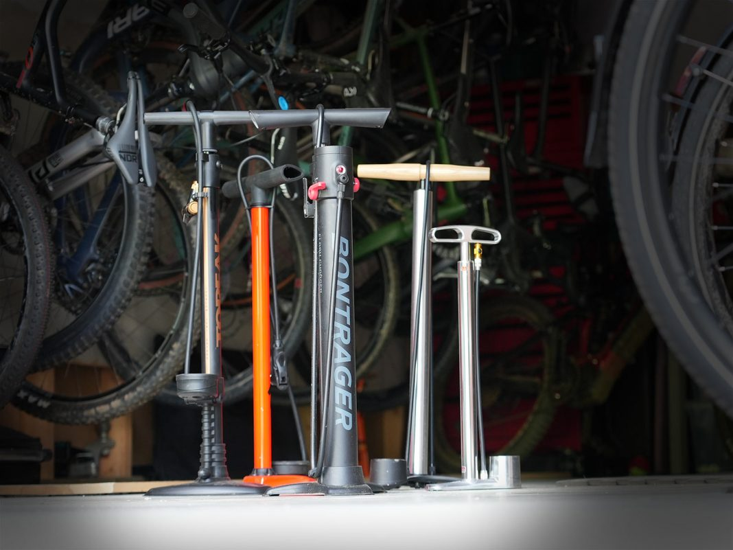 best bike pumps and bicycle floor pumps for road gravel cyclocross mountain and fat bikes in 2021