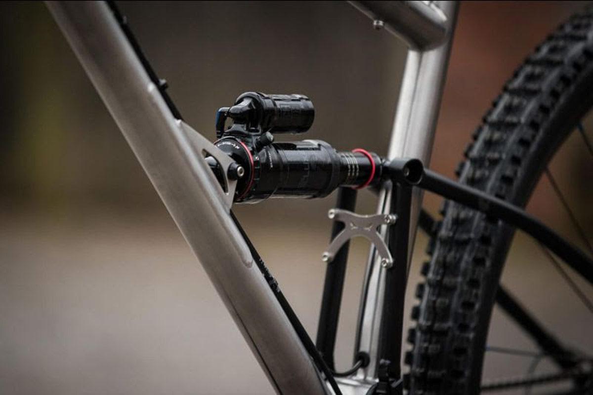 starling cycles murmur enduro frame raw stainless ltd ed