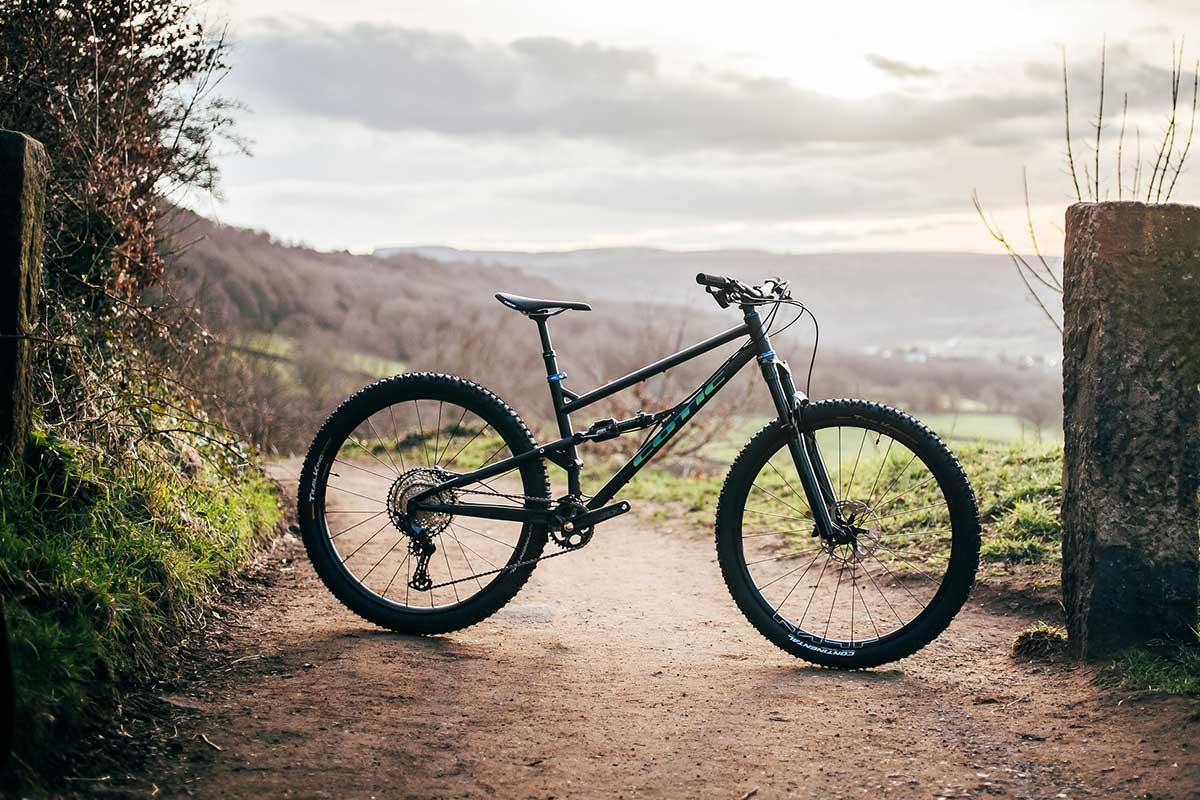 cotic flaremax gen4 29er 125mm full suspension steel mountain bike