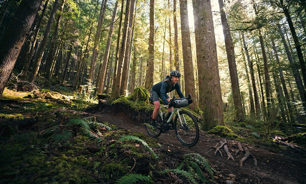All-new 2021 Canyon Grizl carbon gravel bike bikepacking adventure, riding