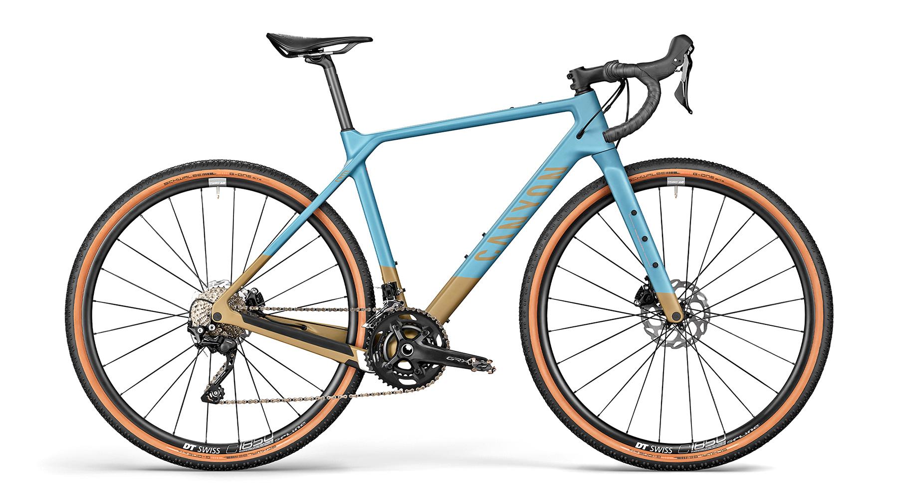 All-new 2021 Canyon Grizl carbon gravel bike bikepacking adventure, CF SL 6