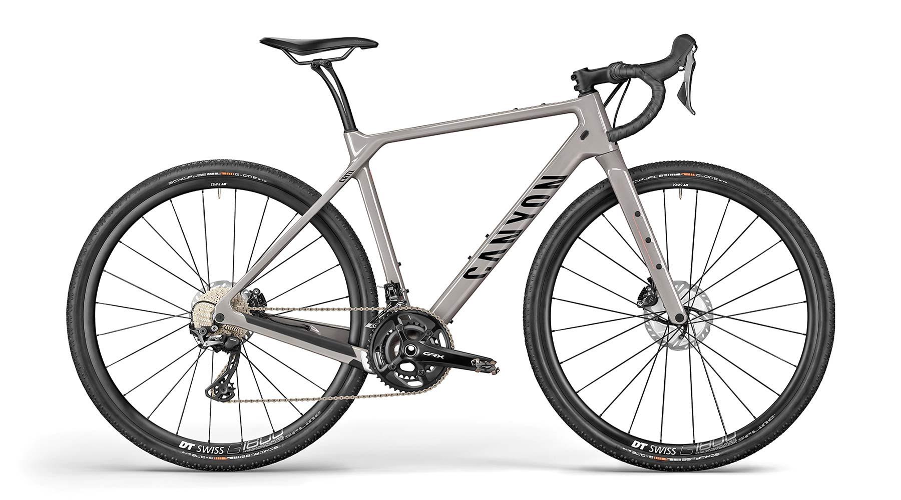 All-new 2021 Canyon Grizl carbon gravel bike bikepacking adventure, CF SL8