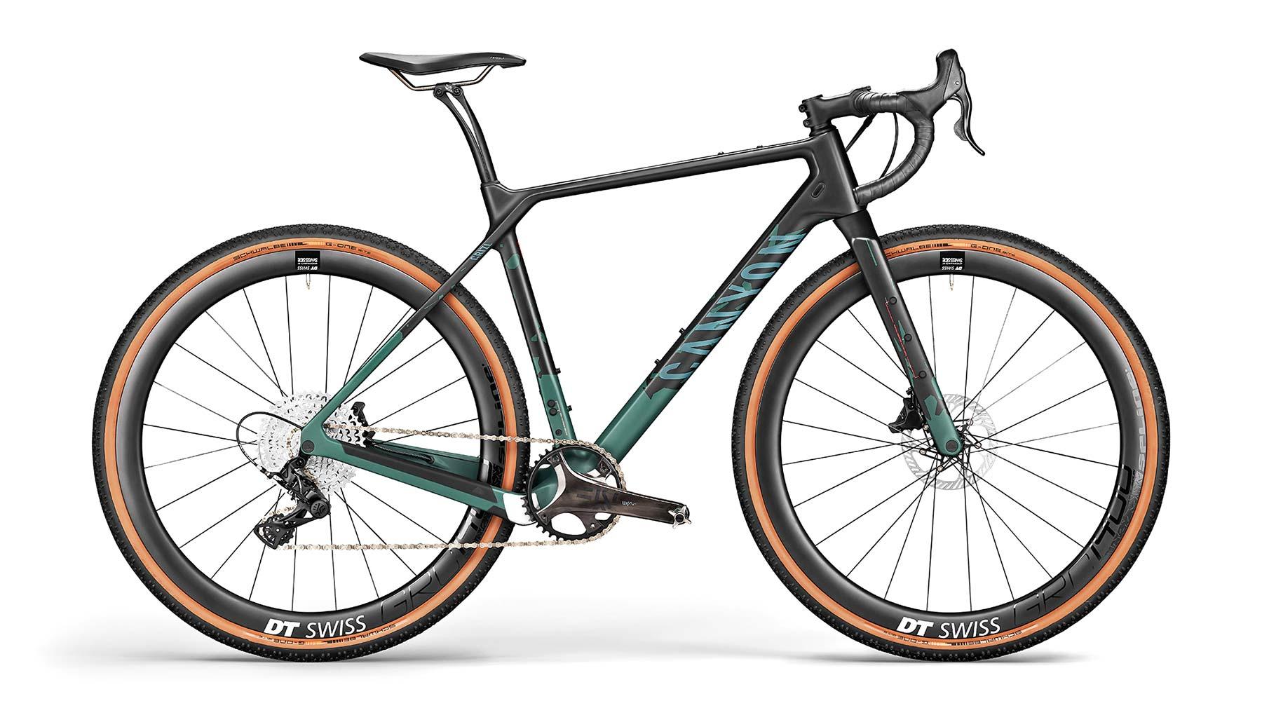 All-new 2021 Canyon Grizl carbon gravel bike bikepacking adventure, CF SLX 1X