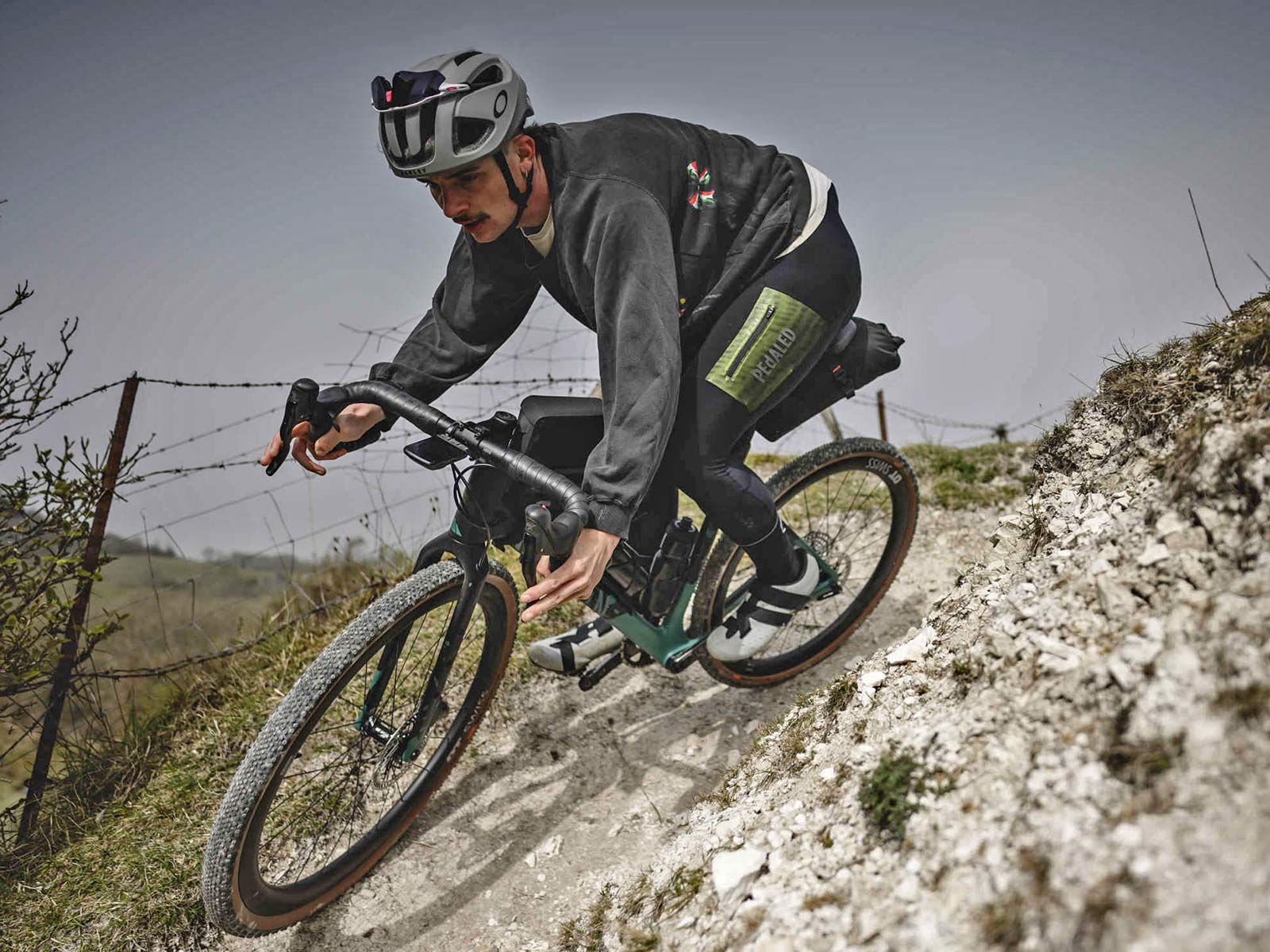 Apidura x Canyon Grizzly off-road adventure bikepacking bags for Grizl gravel bike,off-road MTB