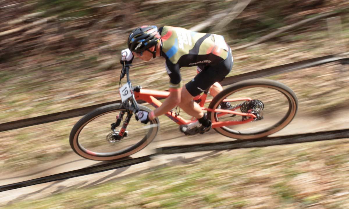 Santa Cruz XC Superlight Super Blur prototype carbon XC race mountain bike, Santa Cruz FSA pro team racing, photo by Enrico Andrini,Maxime Marotte