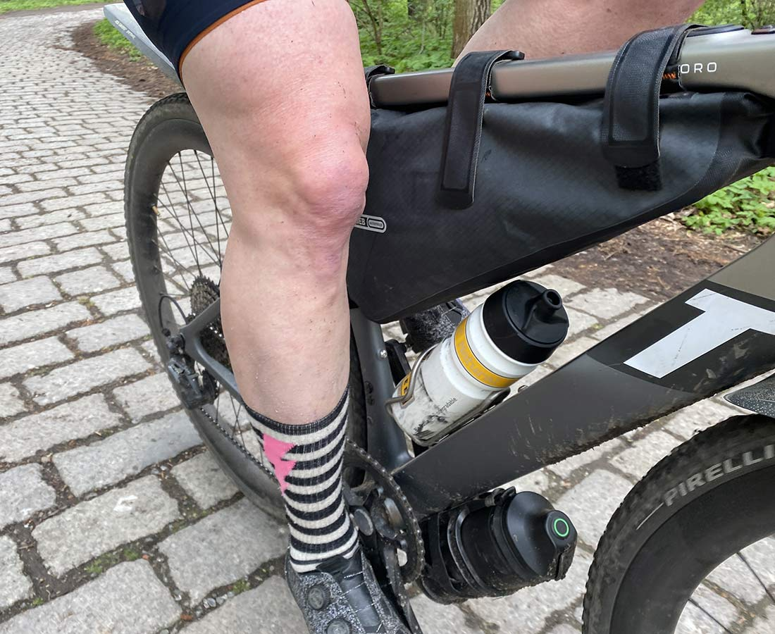 3T Exploro RaceMax Boost gravel e-bike, stealth ebikemotion X35 pedal-assist,Xtra Power external battery