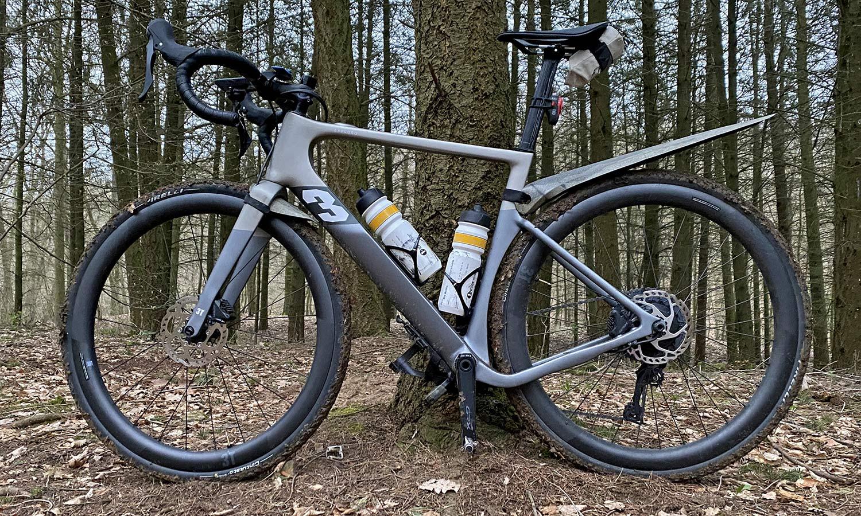 3T Exploro RaceMax Boost gravel e-bike ebikemotion X35review,non driveside