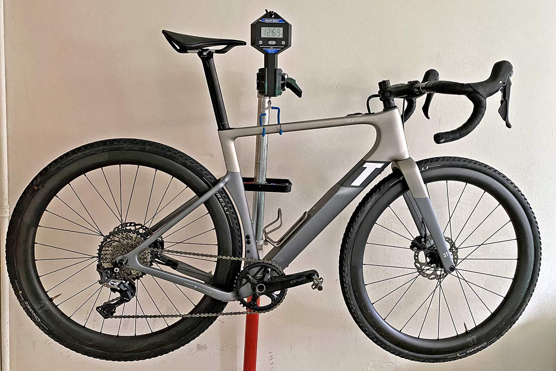3T Exploro RaceMax Boost gravel e-bike ebikemotion X35review,actual weight 12.375kg