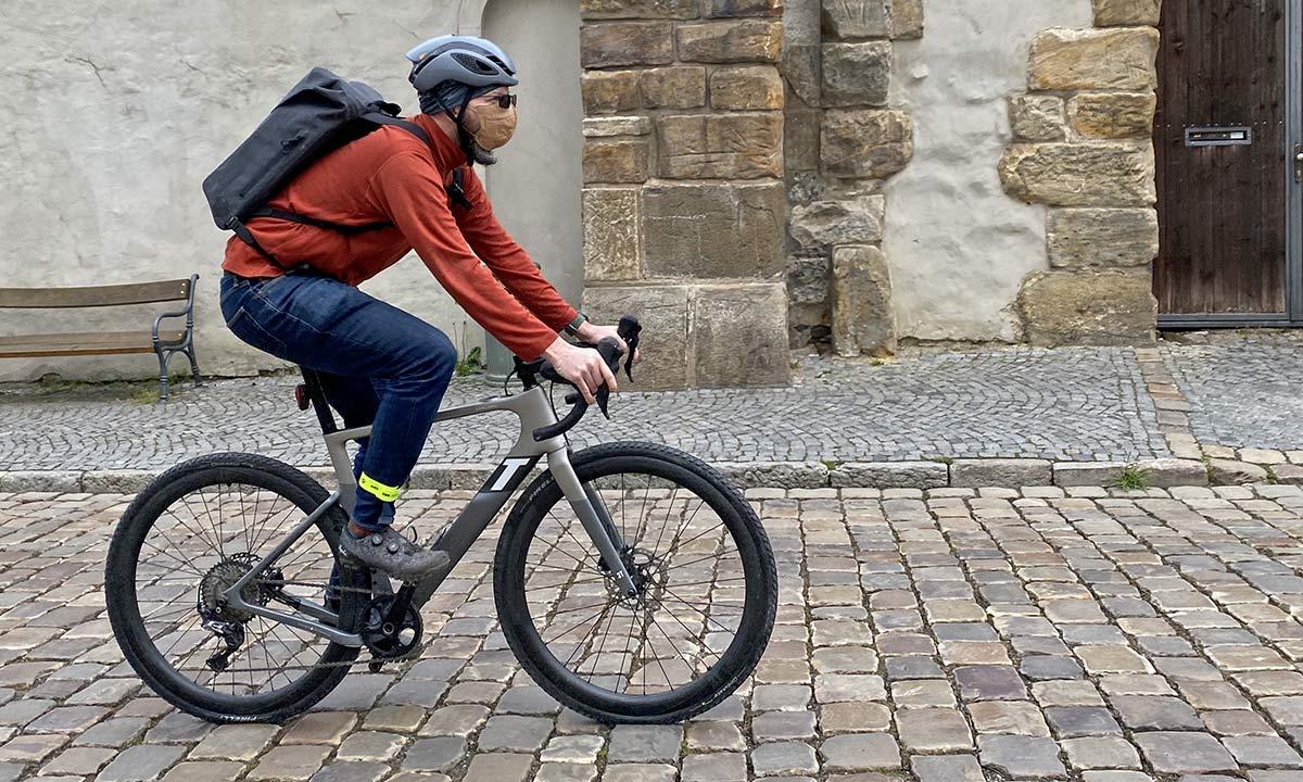 3T Exploro RaceMax Boost gravel e-bike ebikemotion X35 review,commuter