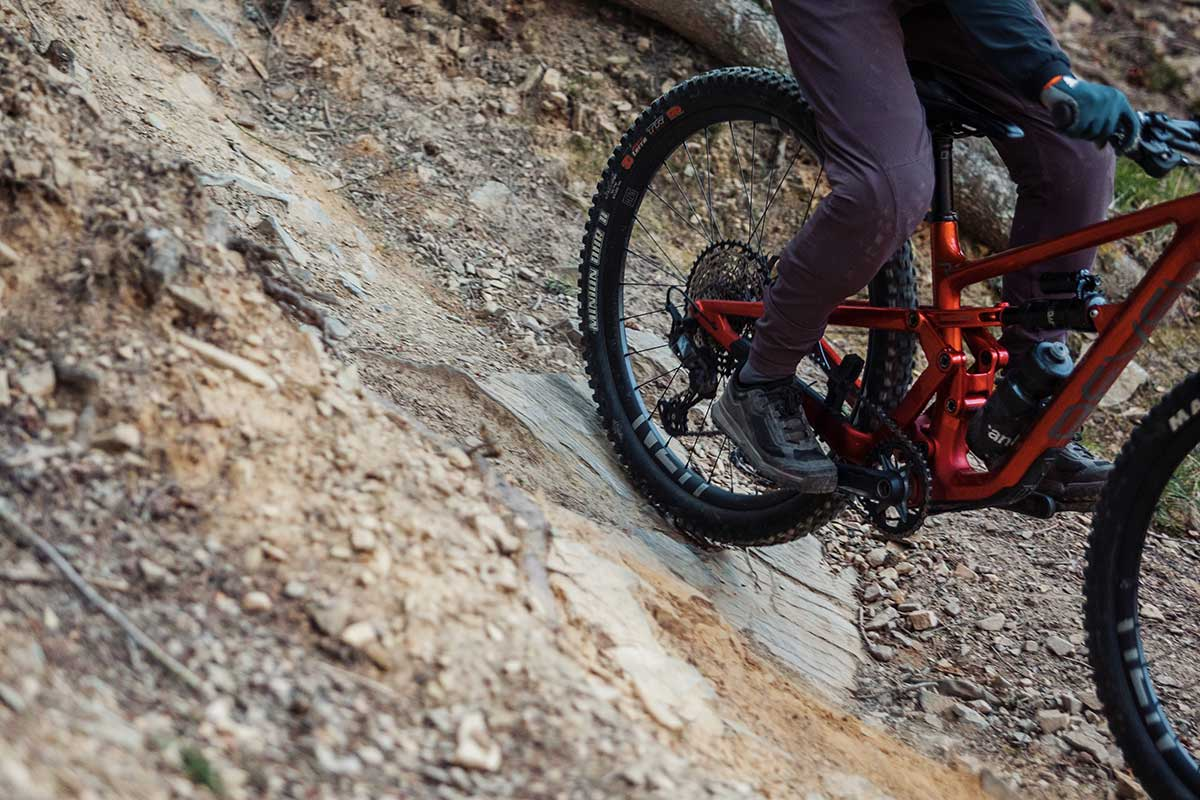 cushcore pro review riding rocky trails 12 psi