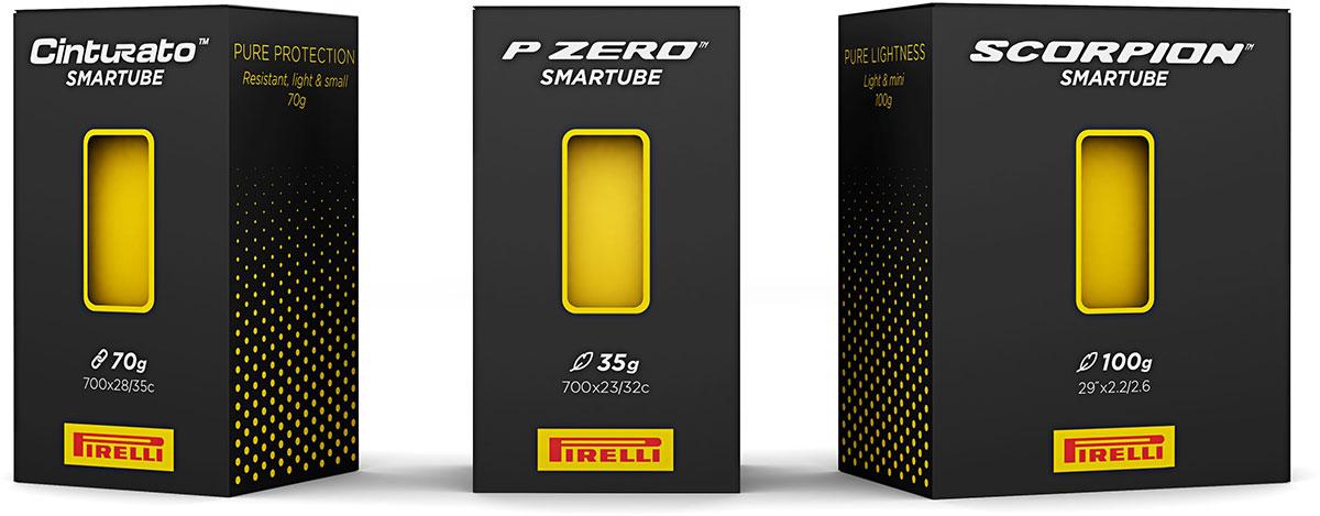 pirelli smart tube innertubes p zero road scoprion mtb cinturato gravel