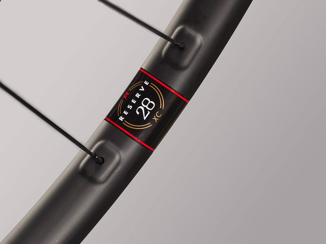 reserve xc 28 carbon wheelset cross country racing