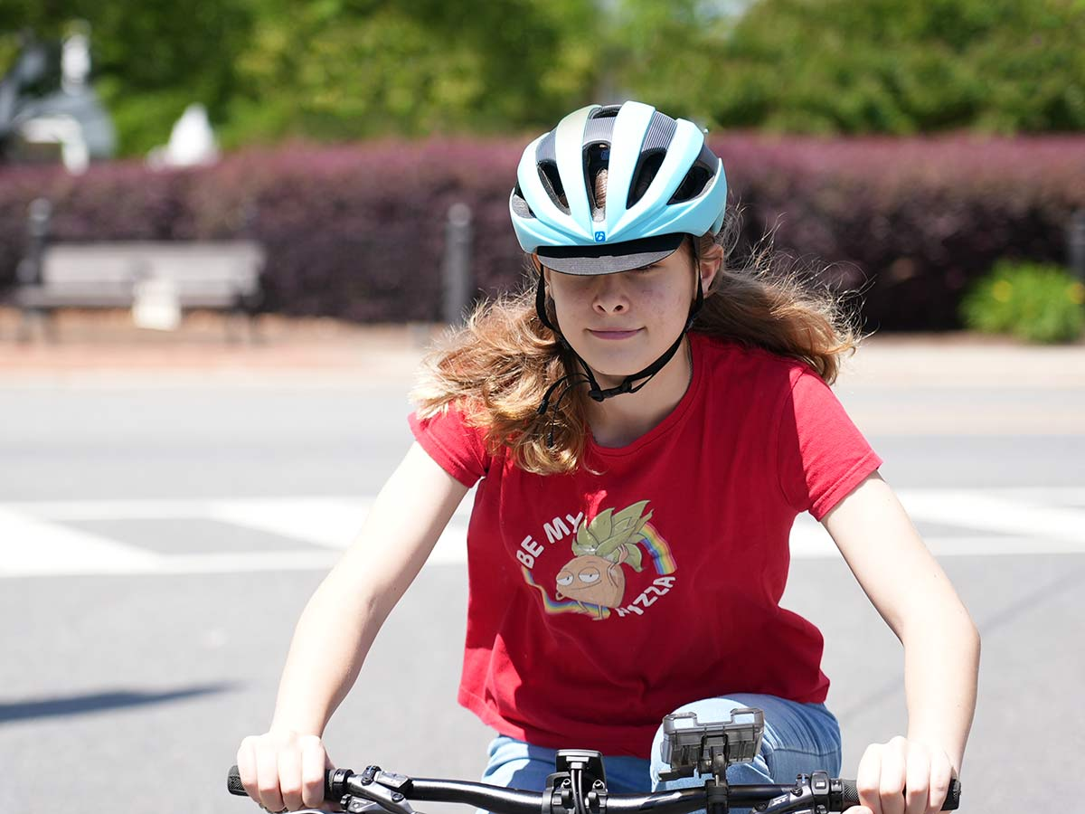 the best womens overall cycling helmet for most types of riding is the bontrager velocis mips with integrated soft visor