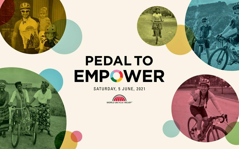 WBR Pedal to Empower, World Bicycle Relief 2021