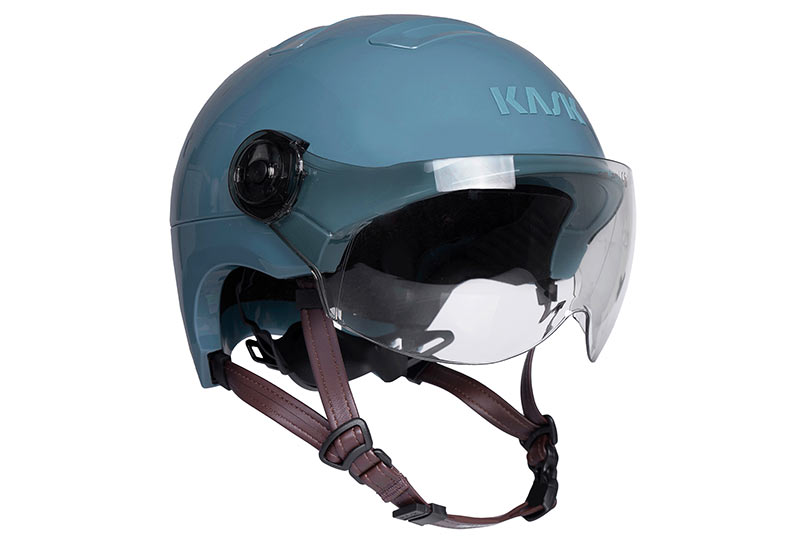 kask urban r winter bicycle commuter helmet for women with clear visor to block the wind and rain from your eyes