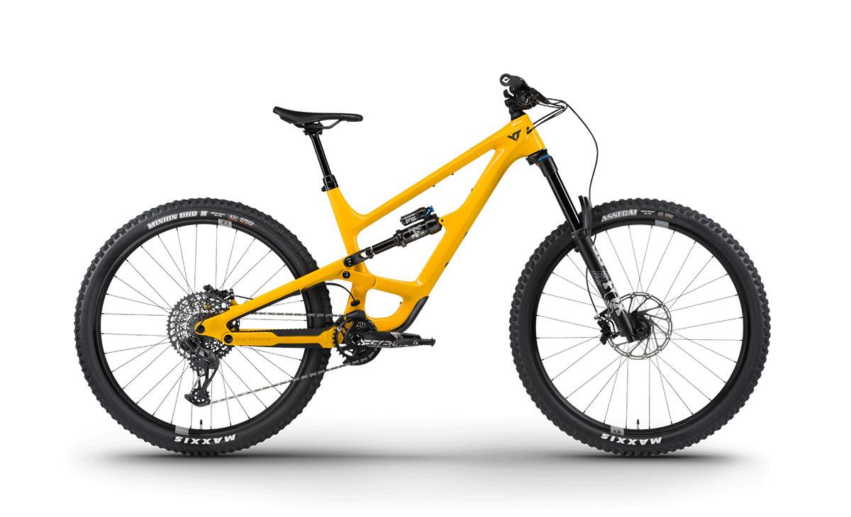 2021 yt capra 29 core deep yellow