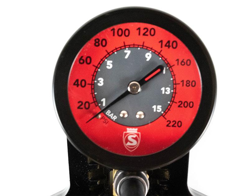 Silca 220psi floor pump gauge