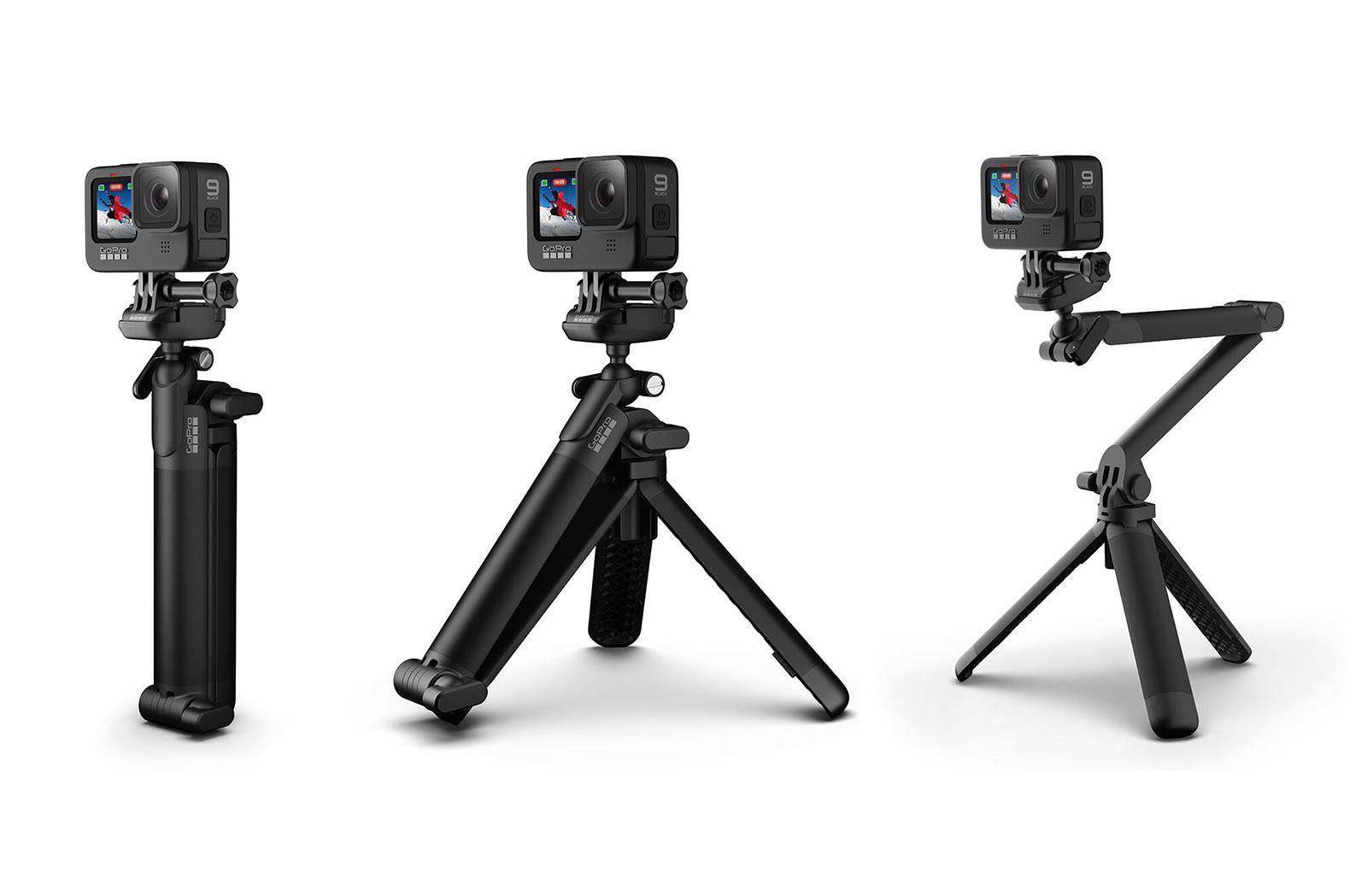 New GoPro 3-Way 2.0 grip folds into some interesting positions, new backpack looks surprisingly good - Bikerumor