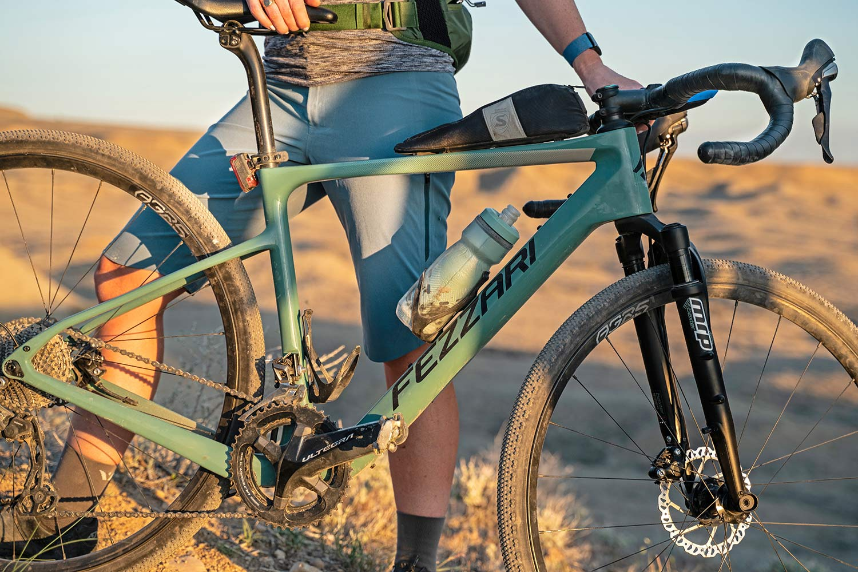 All-new MRP Baxter gravel fork, lightweight 40mm 60mm gravel bike-specific suspension,Fezzari