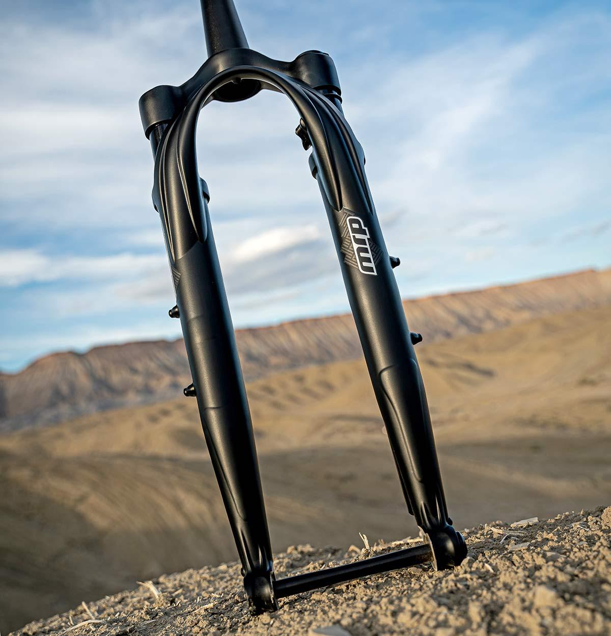 All-new MRP Baxter gravel fork, lightweight 40mm 60mm gravel bike-specific suspension,front