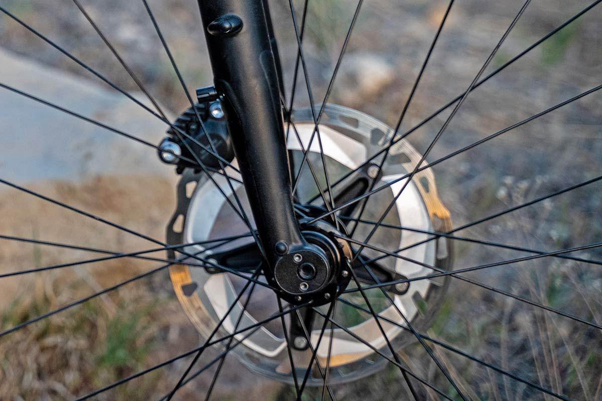 All-new MRP Baxter gravel fork, lightweight 40mm 60mm gravel bike-specific suspension,flip chip dropout