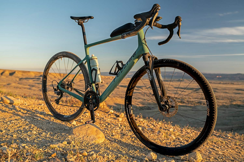 All-new MRP Baxter gravel fork, lightweight 40mm 60mm gravel bike-specific suspension,Fezzari complete