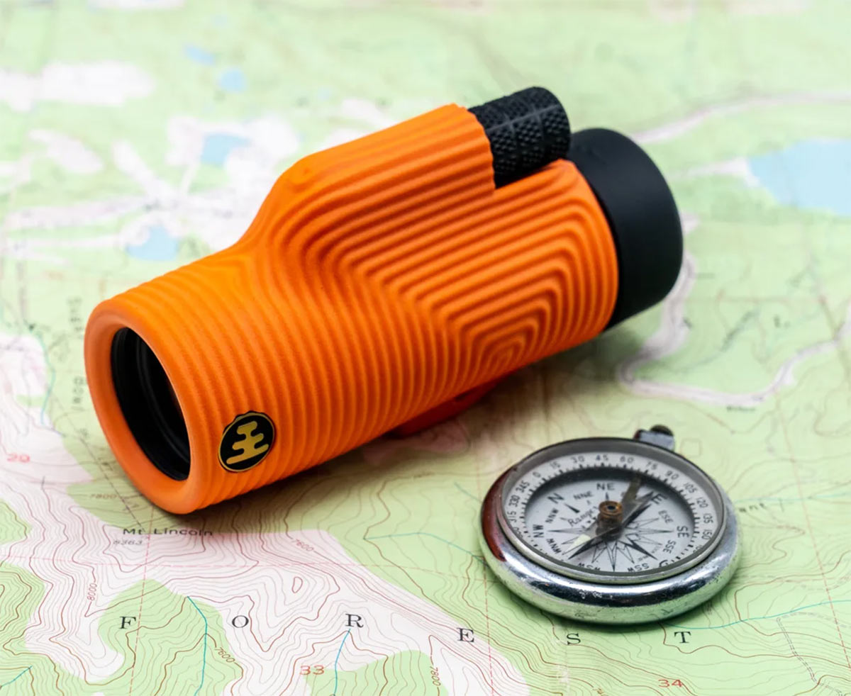 nocs ultralight monoculars for adventure bikepacking and family use