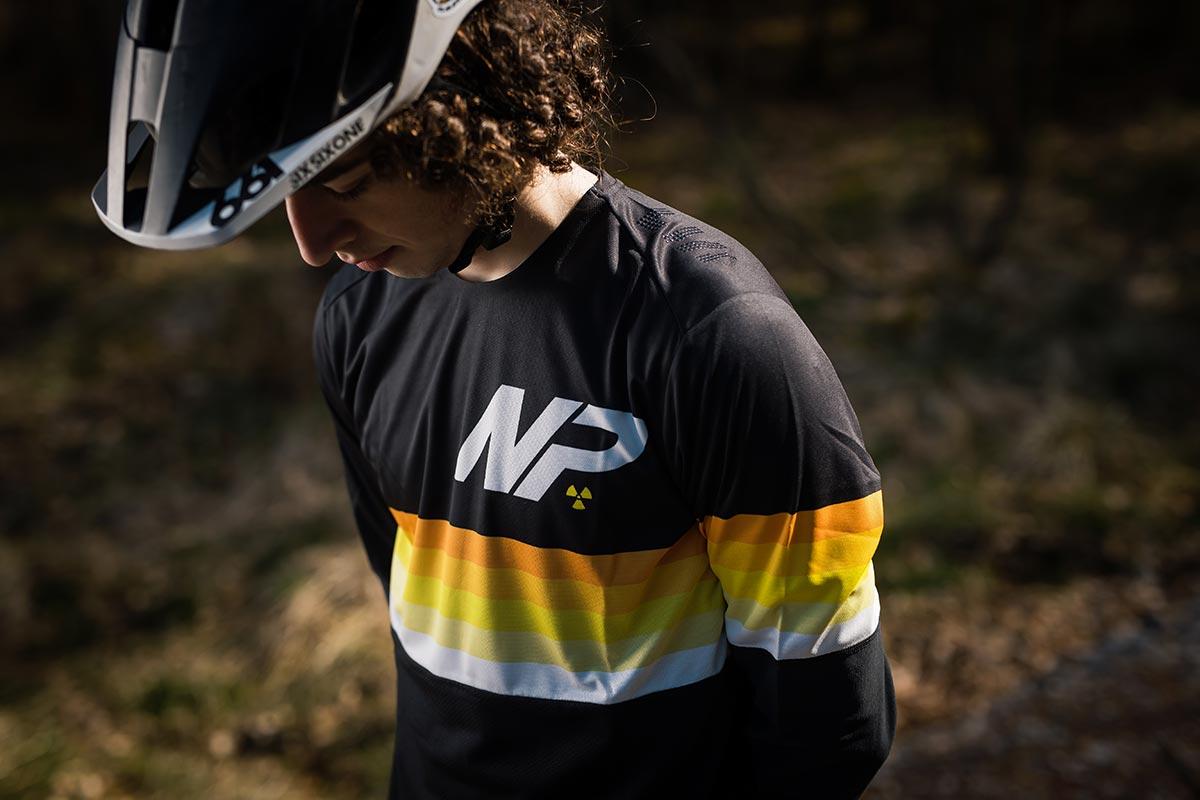2021 Nukeproof Ridewear lil robbo models blackline race mtb jersey