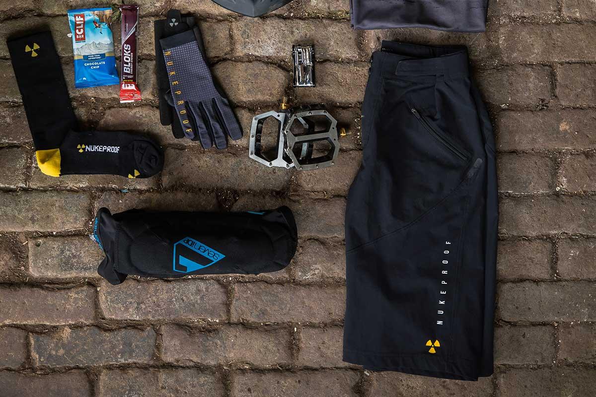 2021 Nukeproof Ridewear Blackline shorts