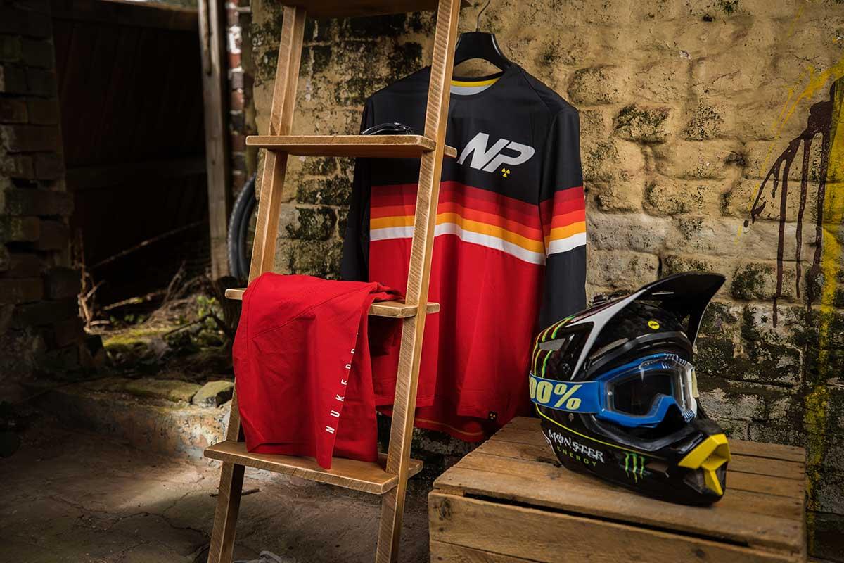 2021 nukeproof ridewear blackline race kit