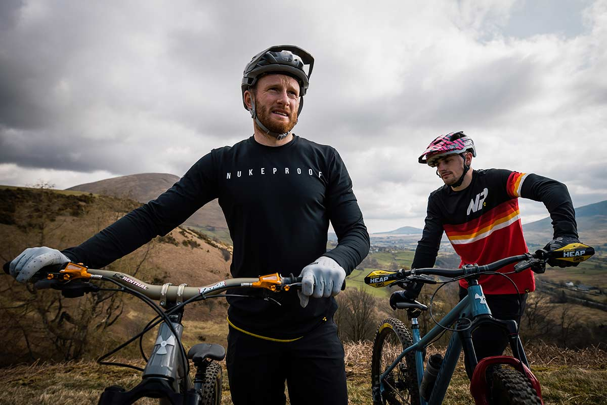 adam brayton blackline tech long sleeve jersey elliot heap 2021 nukeproof ridewear