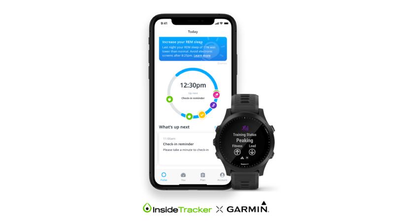 Garmin - Insidetracker sleep tracking cycle