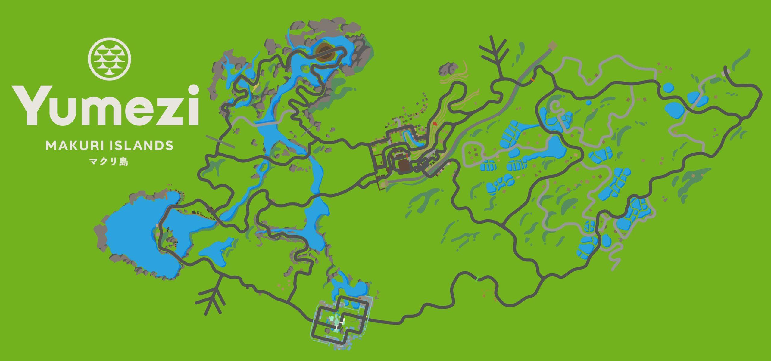 Zwift new Japanese-inspired Makuri Islands virtual fantasy world, indoor training on Yumezi map
