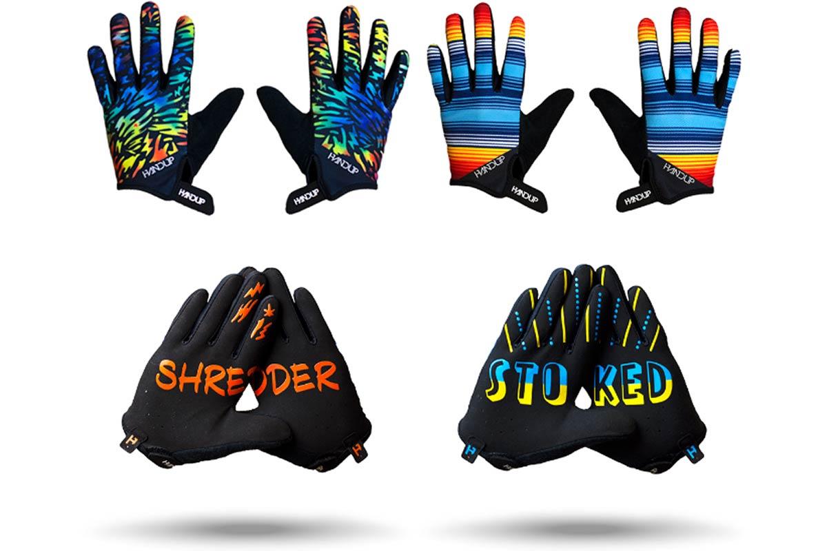handup kids gloves stoked shredder