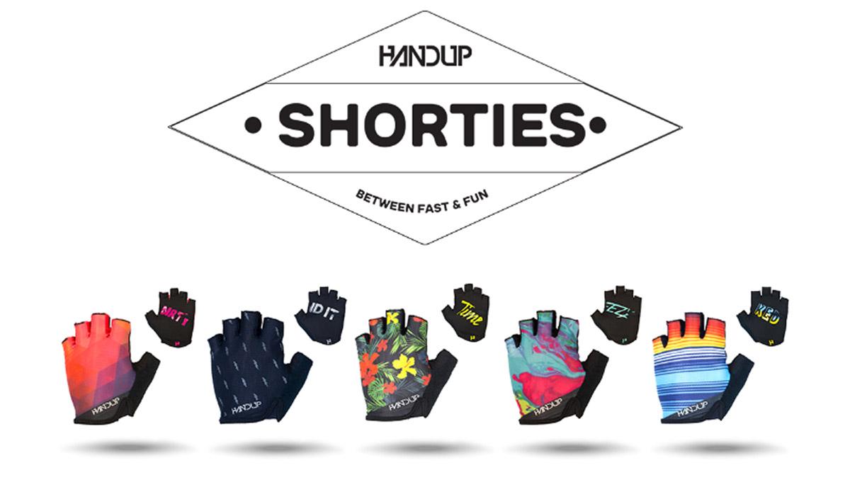 2021 handup short finger gloves