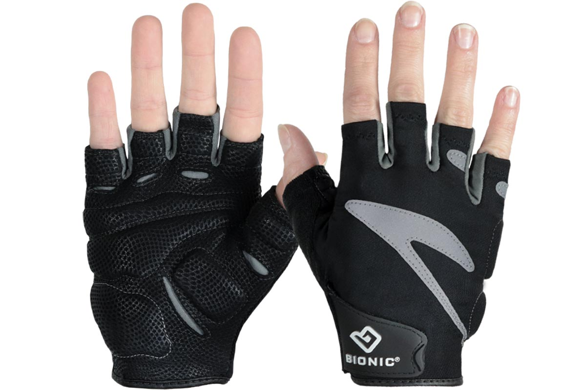 bionic half finger gloves