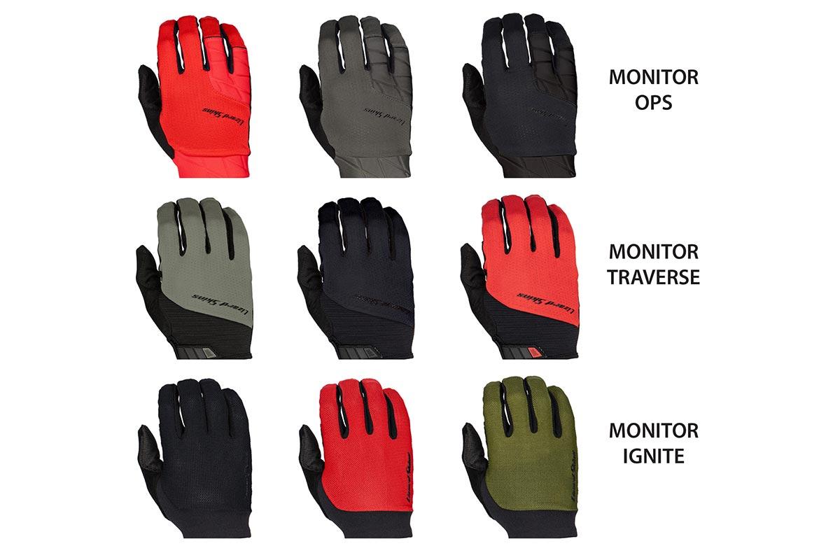 lizard skins monitor cycling gloves long finger