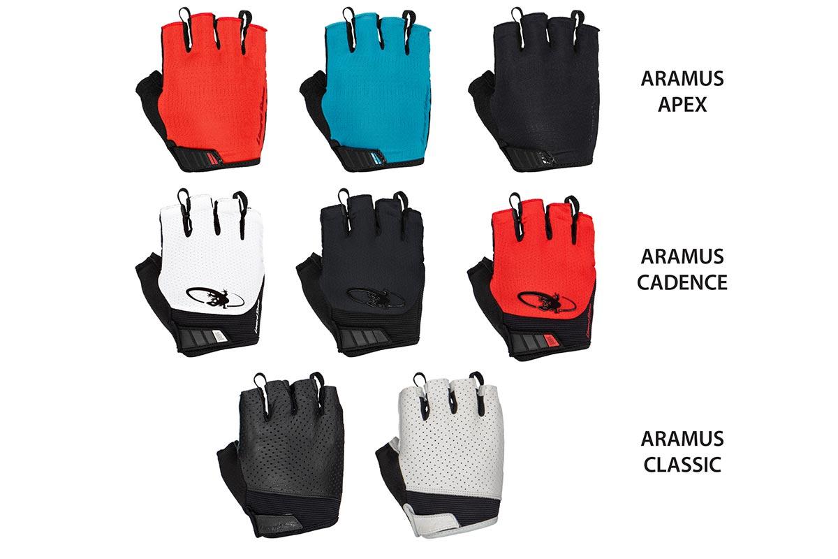 lizard skins aramus short finger gloves