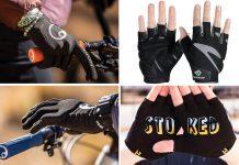 2021 spring cycling gloves mtb road short finger options kids gloves