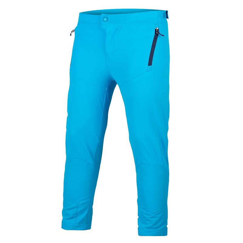 Endura MT500 Smok'n Prints, Kid's MT500JR Burner pant, electric blue