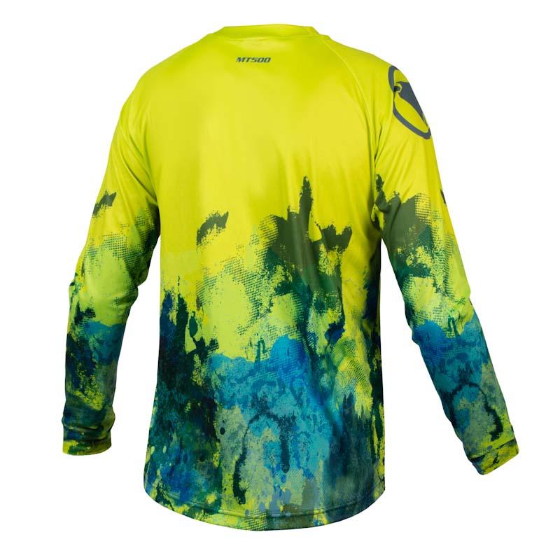 Endura MT500 Smok'n Prints, mens Ink jersey, Moss