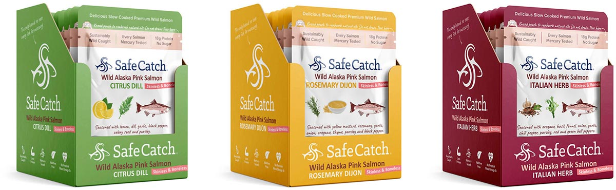 safe catch salmon pouches protein onthego