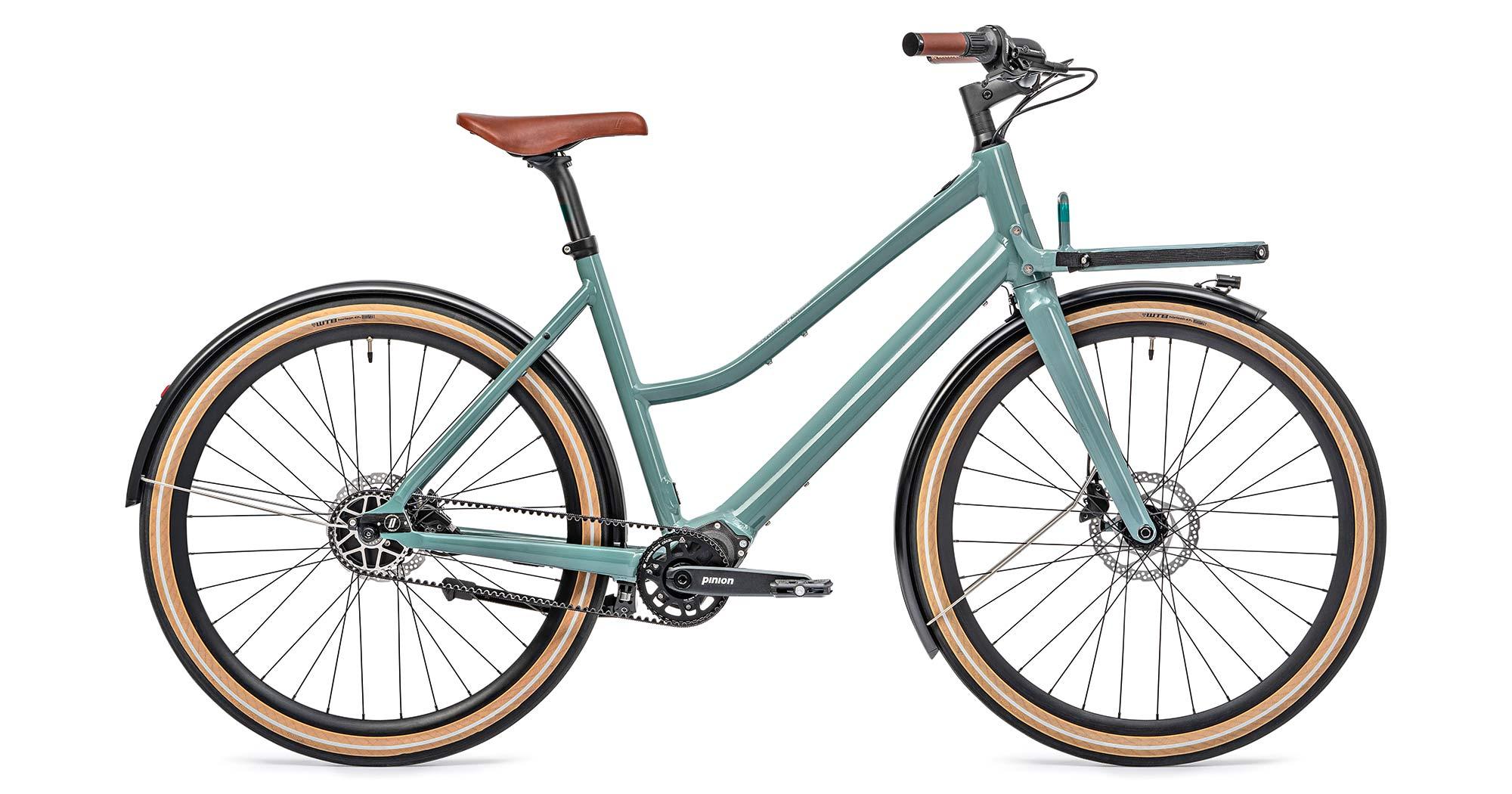 2021 Schindelhauer Emil Emilia porteur ebikemotion Pinion urban commuter city e-bikes